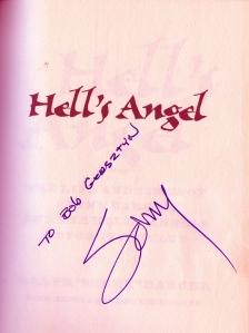 Sonny's autograph