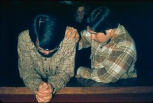 B Praying together 1974