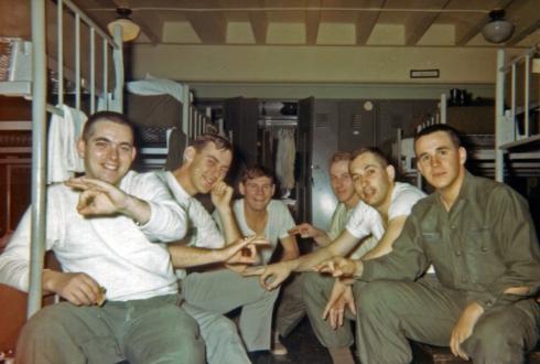 Guys in the Barracks