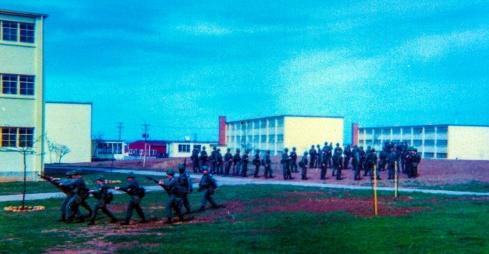 Riot Control Practice April 1968