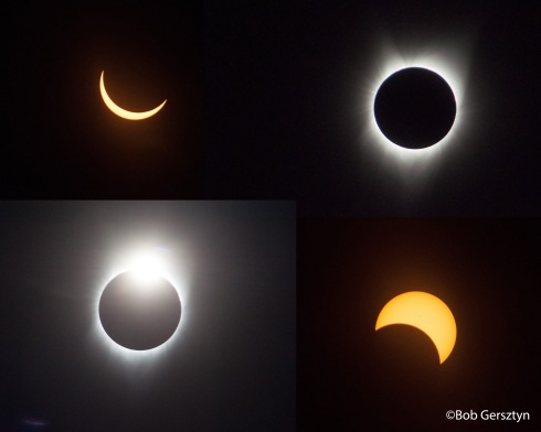 Solar Eclipse Perfect Collage #1 Copyright