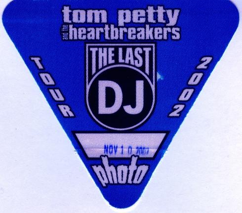 Tom Petty Photo Pass